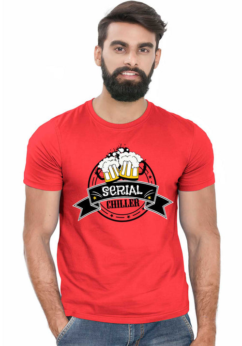 Serial Chiller T-Shirt - Wear Your Opinion - WYO.in  - 1