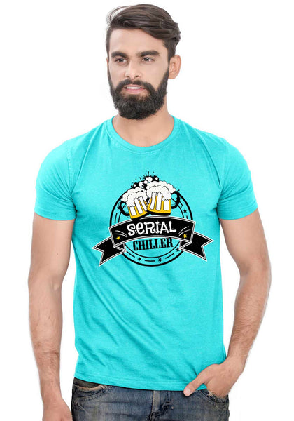 Serial Chiller T-Shirt - Wear Your Opinion - WYO.in  - 2