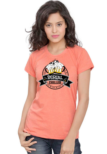 Serial Chiller Women TShirt