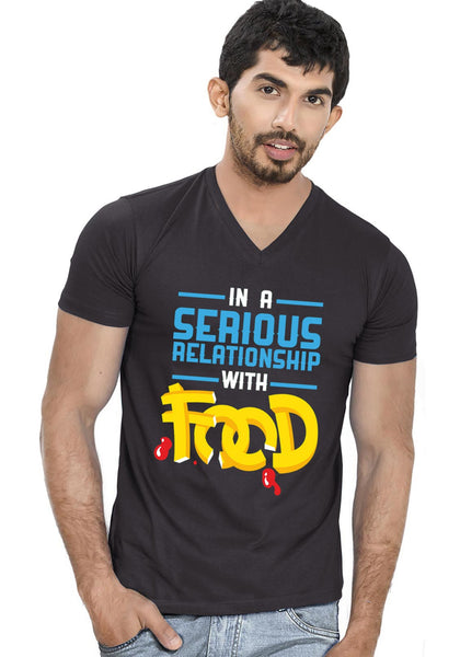 Serious Relationship V Neck T-shirt