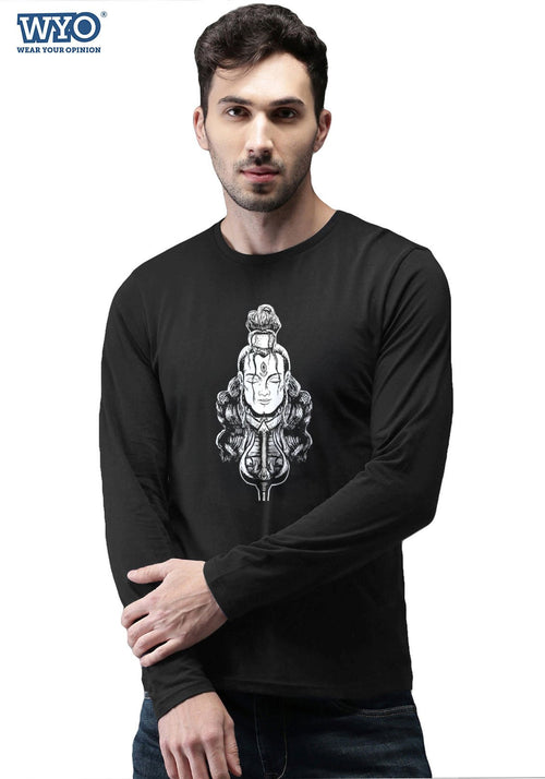 Shiva Face (Glow In Dark) Full Sleeves