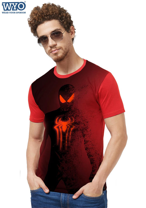 HD Printed Spiderman Fade Out T-Shirt