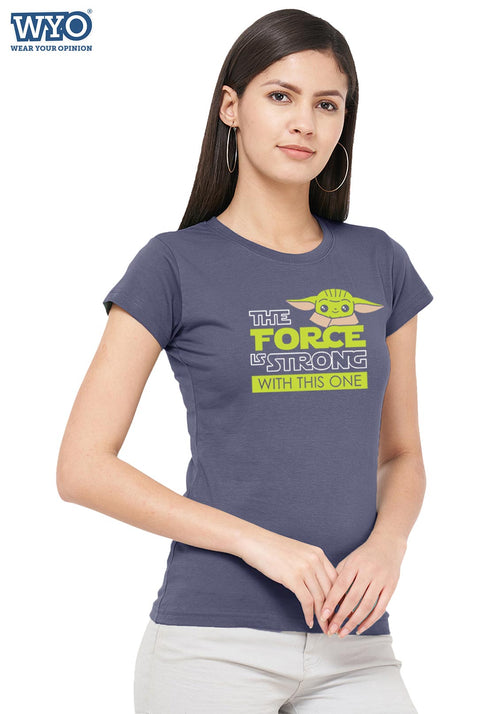The Strong Force Child Women Tshirt