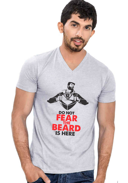 Super Beard V Neck T-shirt