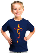 Symbolic Ganesha Kid'S Tshirt - Wear Your Opinion - WYO.in  - 1
