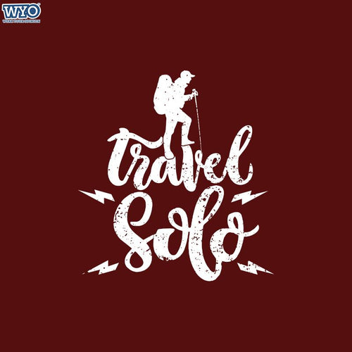 Travel Solo Women Tshirt