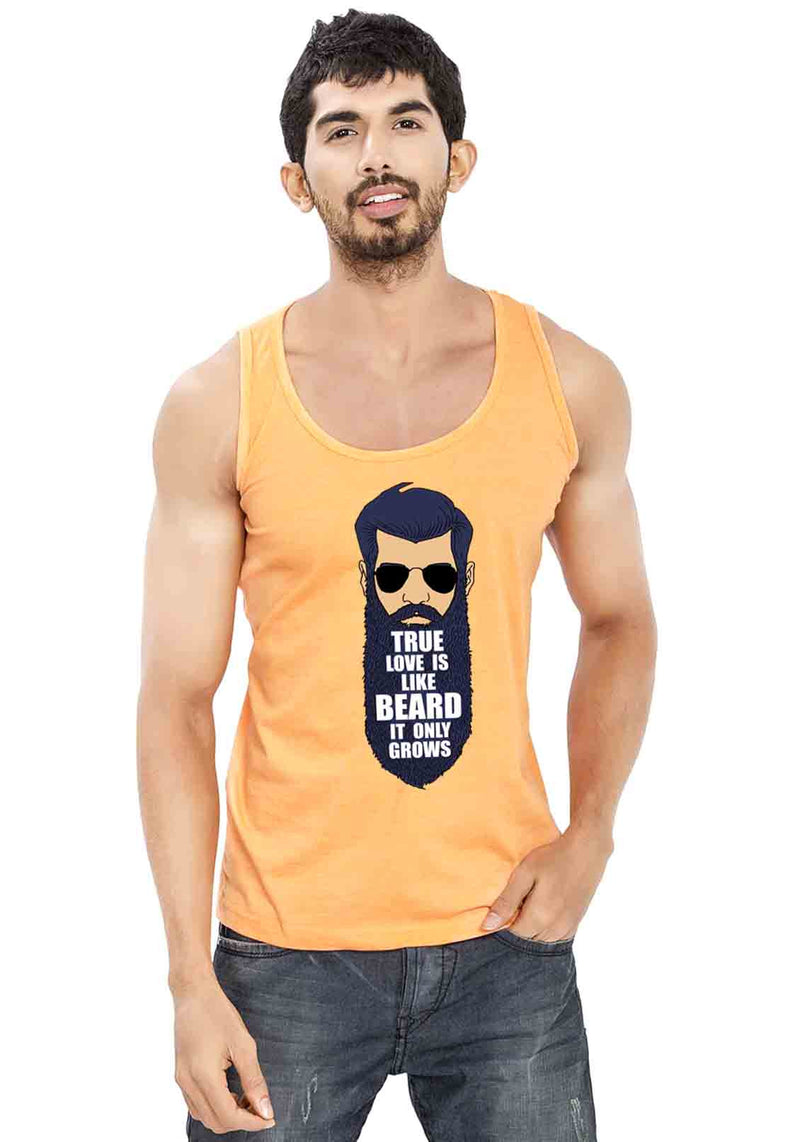 True Love Beard Sleeveless T-Shirt