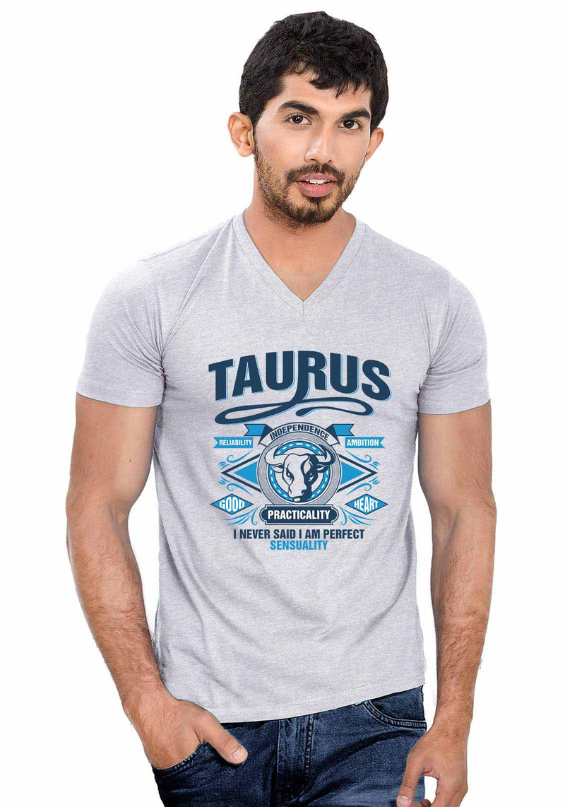 Taurus V Neck T-Shirt