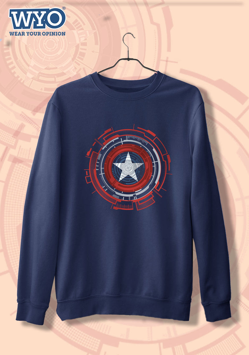 Technical Shield Captain America - Sweatshirt