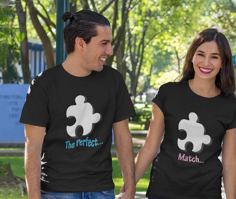 Perfect Match Couple Tees