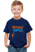 Trouble Maker Kid'S T-Shirt - Wear Your Opinion - WYO.in  - 2