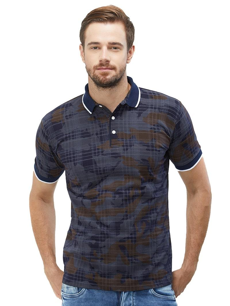 Unsync Checker Polo T-Shirt