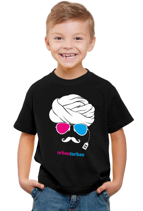 Urban Turban Kid'S T-Shirt - Wear Your Opinion - WYO.in  - 1