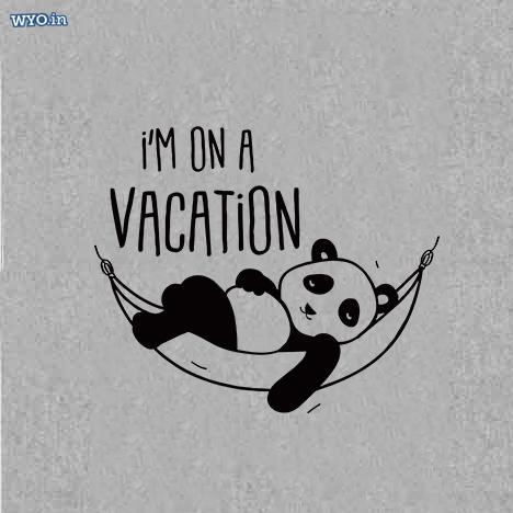 Vacation Panda T-Shirt