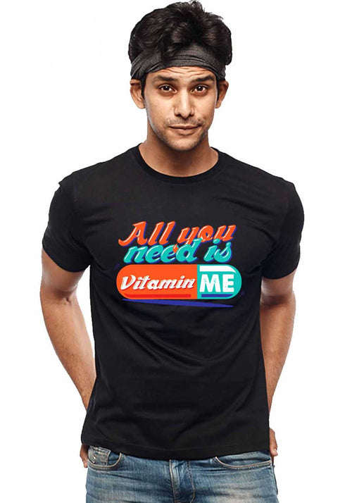 Vitamin Me T-Shirt - Wear Your Opinion - WYO.in  - 1