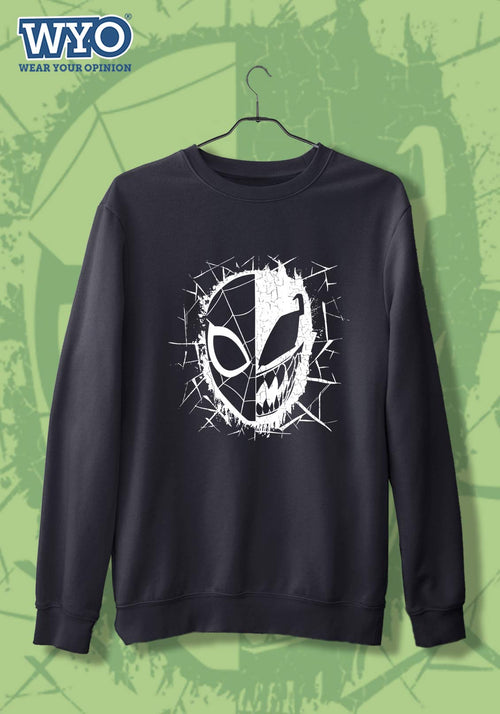 Venom & Spiderman (Glow In Dark) - Sweatshirt