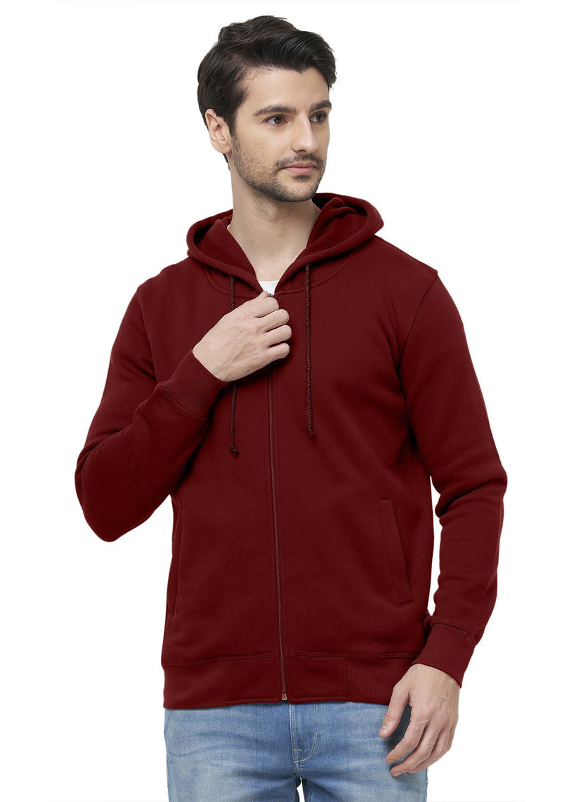 Lite Hooded Jacket - Maroon