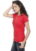 Plain Women's Tshirt - Red