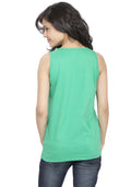 Plain Tanks - Sea Green