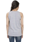 Plain Tanks - Grey Mel