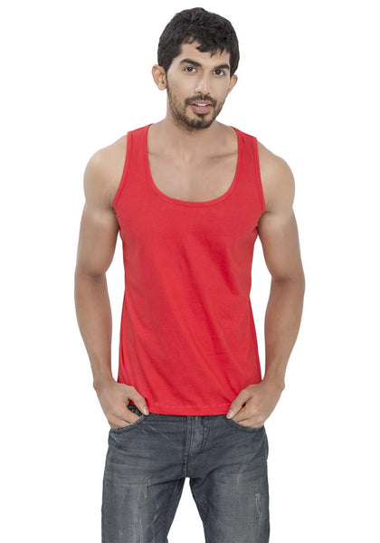 Plain Tanks - Red