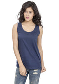 Plain Tanks - Navy
