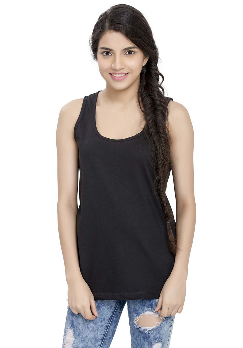Plain Tanks - Black