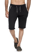 Plain Sweatshorts - Black