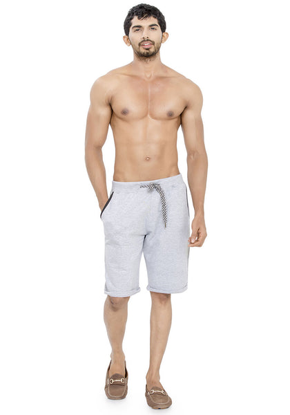 Plain Sweatshorts - Grey Mel