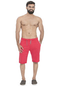 Plain Sweatshorts - Red
