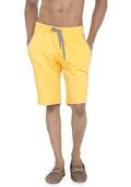 Plain Sweatshorts - Yellow