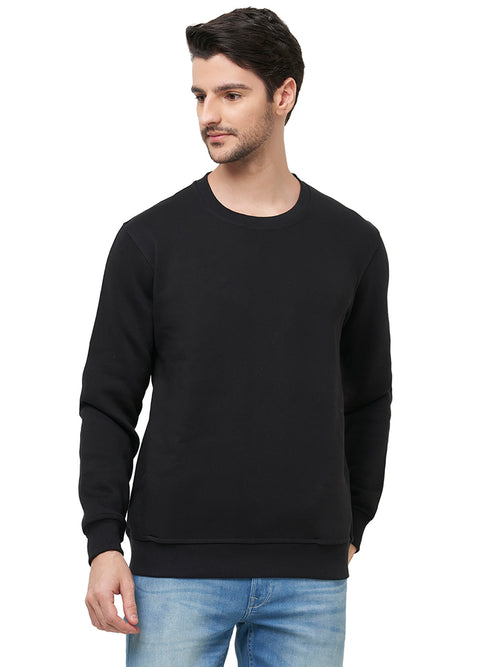 Premium Plain Sweatshirt - Black