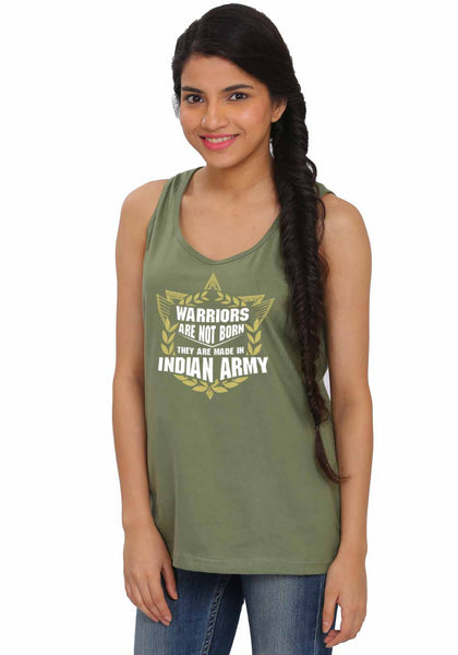 Warriors Sleeveless Tshirt