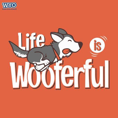 Wooferful Dog Women Tshirt