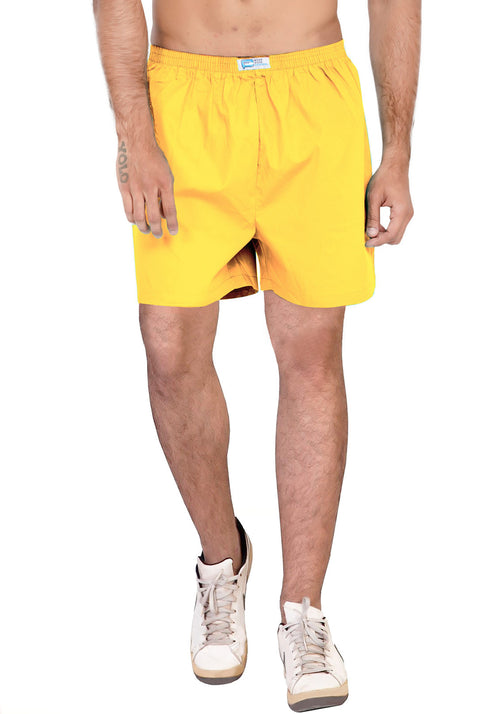 Plain Boxer - Yellow