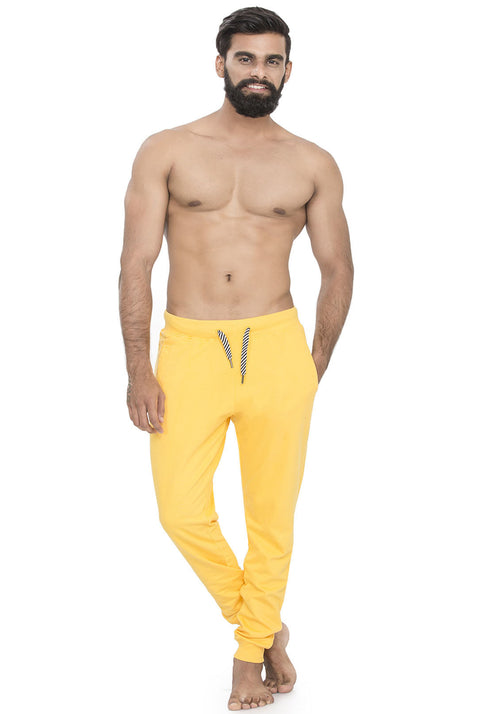 Plain Joggers - Yellow