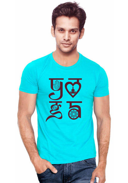 Yoga Symbol T-Shirt - Wear Your Opinion - WYO.in  - 1