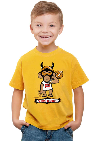 Yum Dude Kid'S T-Shirt - Wear Your Opinion - WYO.in  - 1