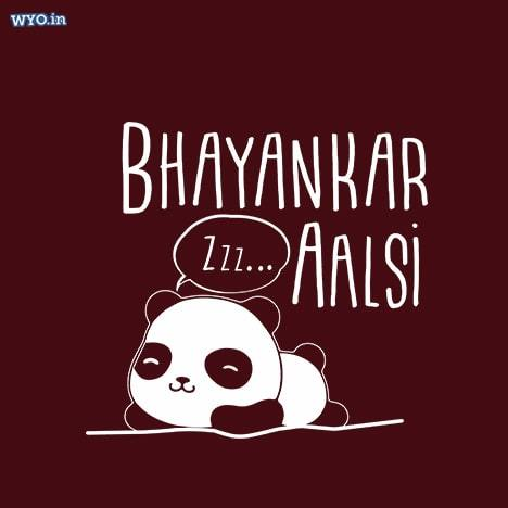 Aalsi Panda Women T-Shirt