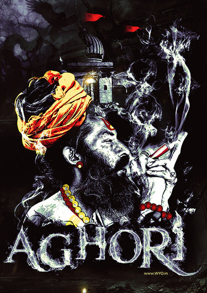 Aghori Poster - Wear Your Opinion - WYO.in
