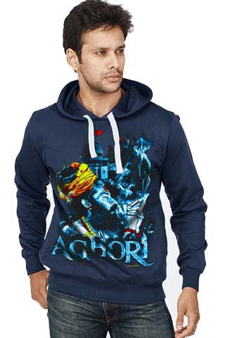 Aghori Front Print Sweatshirt - Wear Your Opinion - WYO.in  - 1