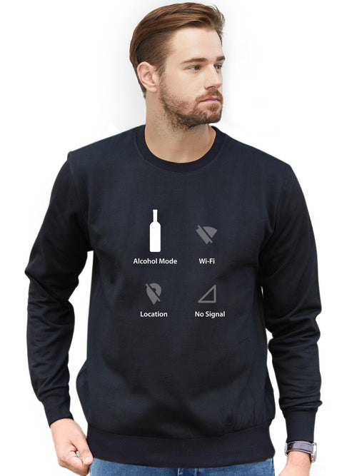 Alcohol Mode Sweatshirt