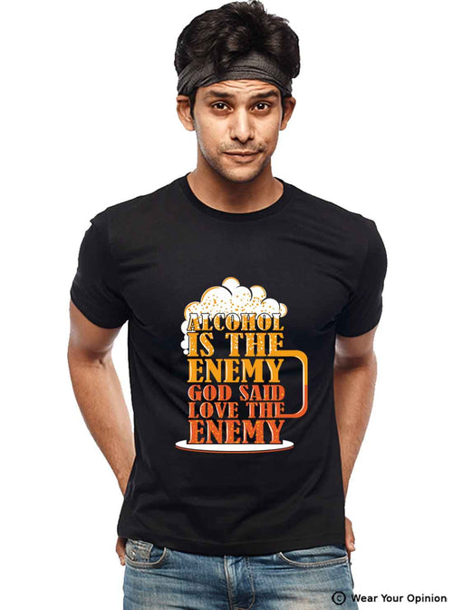 Love The Enemy T-Shirt - Wear Your Opinion - WYO.in  - 2