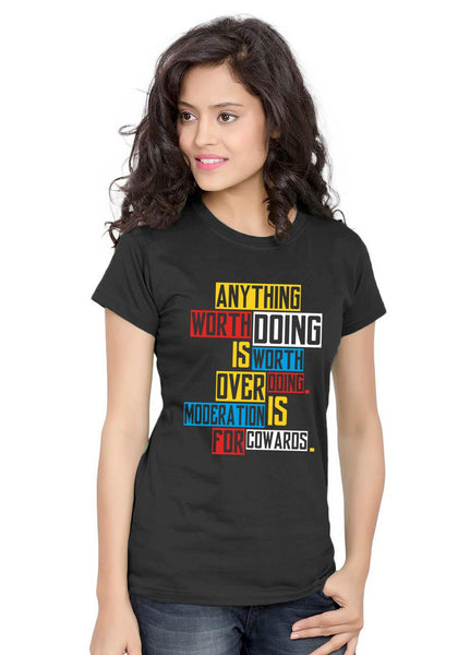 Anything Doing Women TShirt