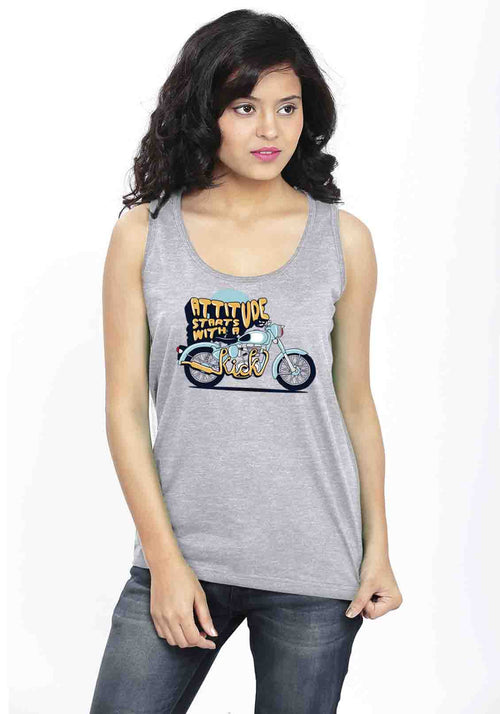 Attitude Sleeveless T-Shirt