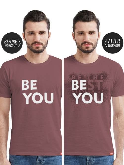 Be You - Sweat Activated Gym T-Shirt