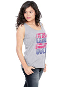 Better To Be Late Sleeveless T-shirt