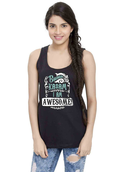 Bhagwan Kasam Sleeveless T-shirt