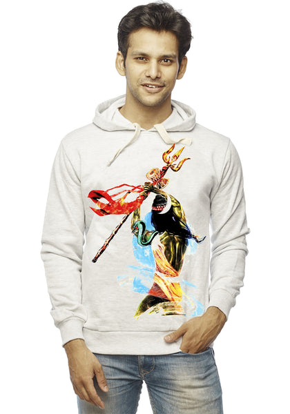 Bhairava Front Print Sweatshirt - Wear Your Opinion - WYO.in  - 1