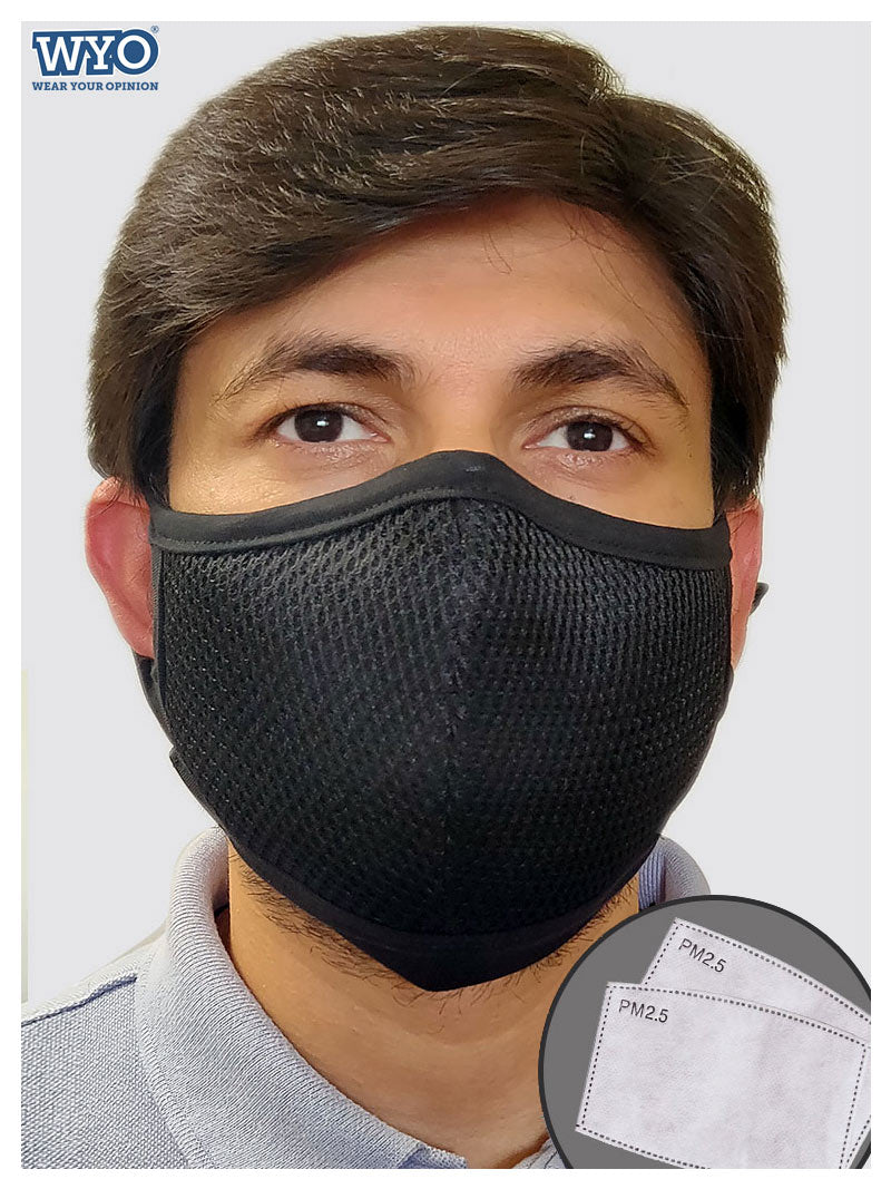 Guard7, Reusable 7 Layer Mask with 2 PM2.5 Filters